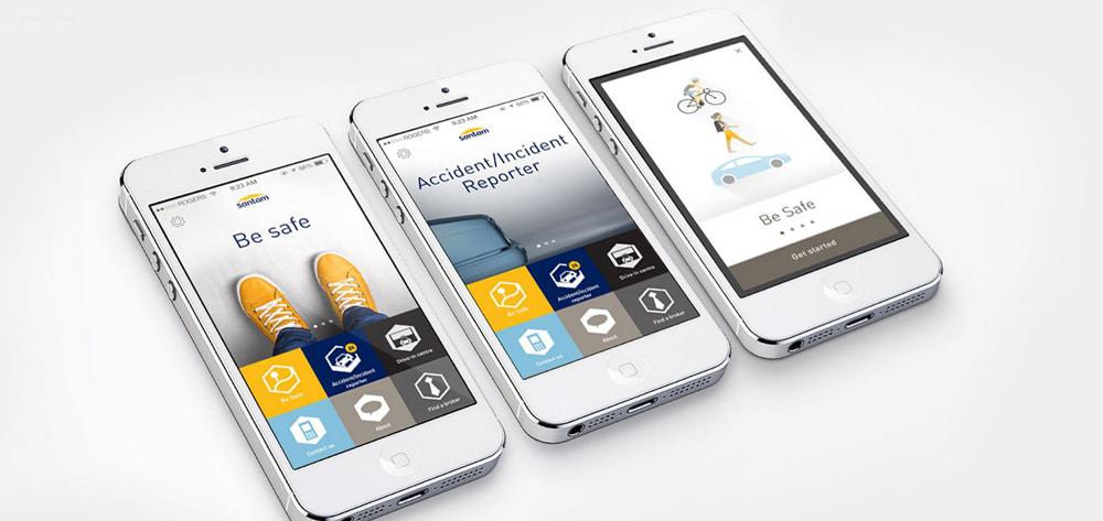 Santam's Be Safe App helps to see where loved ones are located at a specific time