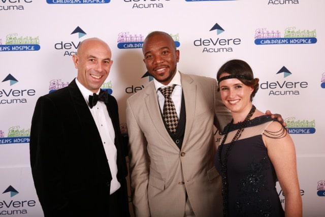 Mr Gavin Smith and Mr and Mrs Mmusi Maimane