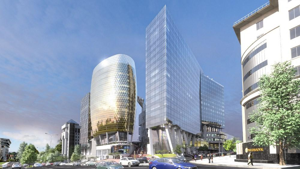Forty-eight percent of new offices being built are going up in Sandton