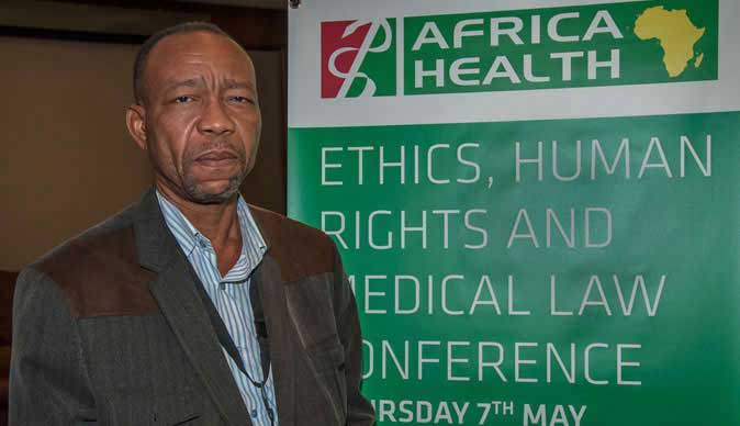 Professor Sylvester Chima, Associate Professor and Head of the Programme of Bio and Research Ethics and Medical Law,  University of KwaZulu-Natal