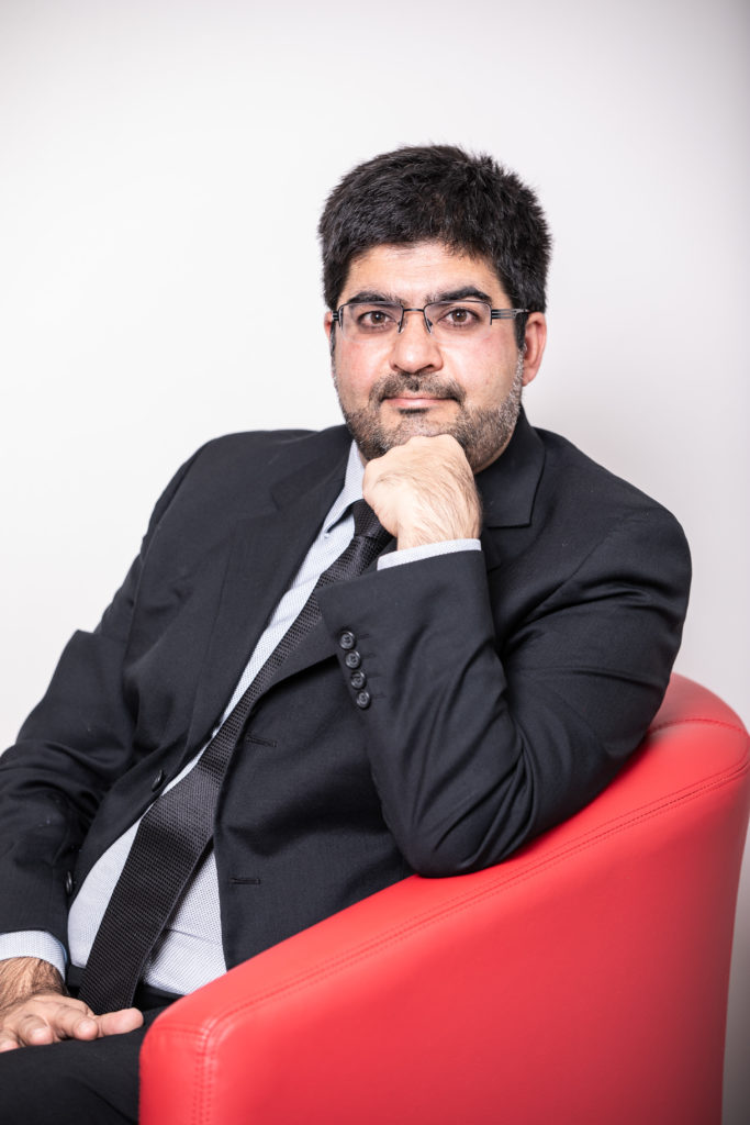 Global Vice-President of Canback Consulting, Arshad Abba