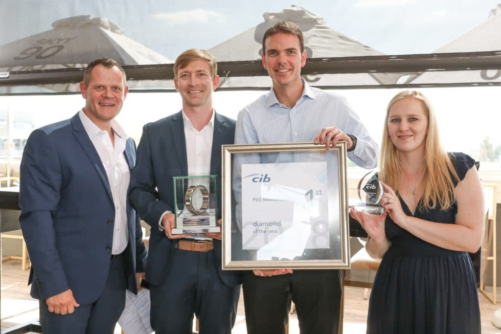 PSG Insure Meesterplan wins Diamond Broker of the Year at CIB Awards
